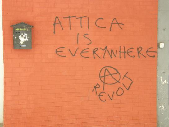 Attica está em todo o lado